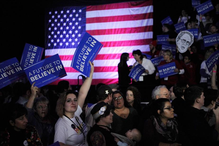 «Bernie Sanders n'arrivera sans doute pas à entraver... (PhotoMark Kauzlarich, Reuters)