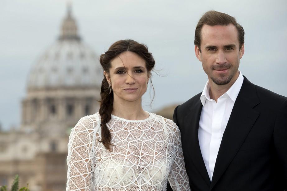 Les acteurs de Risen: Maria Botto etJoseph Fiennes.... (PHOTO AP)