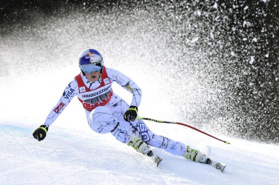 Lindsey Vonn... (PHOTO CHRISTOF STACHE, AFP)