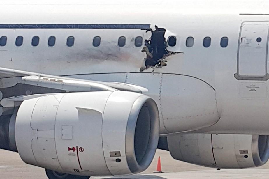 Le 2février, un engin explosif placé à bord... (PHOTO ARCHIVES ASSOCIATED PRESS)