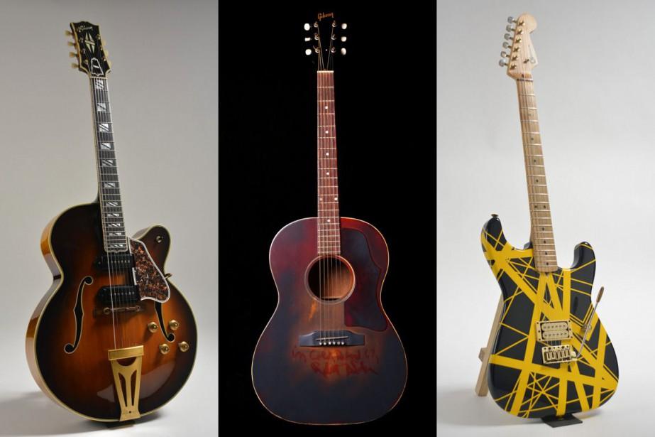 Parmi les instruments mis aux enchères, on retrouvera... (PHOTOS ASSOCIATED PRESS)