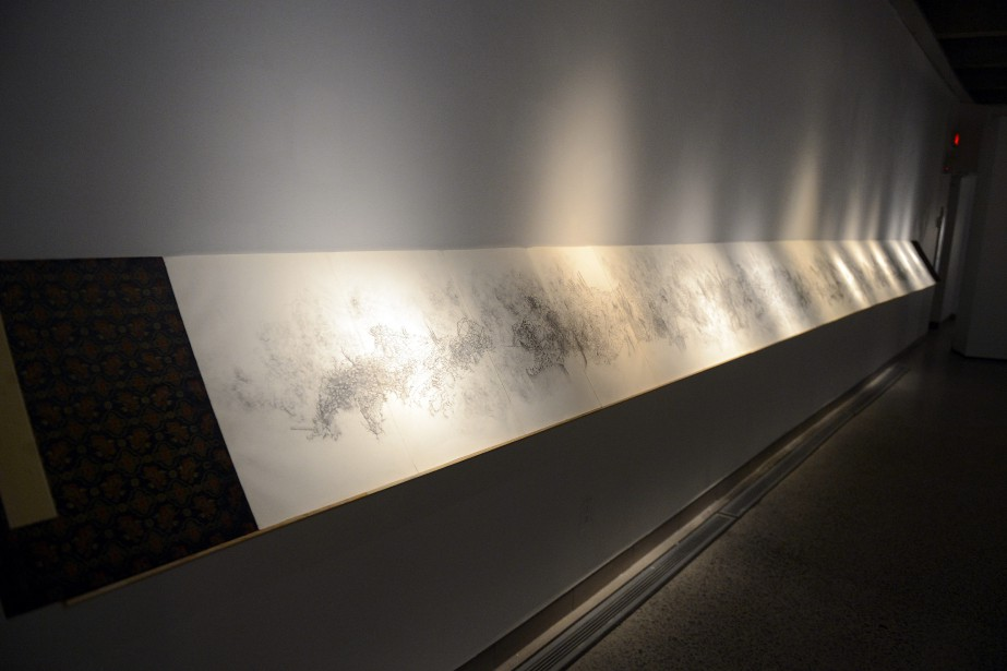 L'exposition<em> Espace donné - Temps abandonné</em> de Jacques Desbiens (Photo Le Progrès-Dimanche, Jeannot Lévesque)