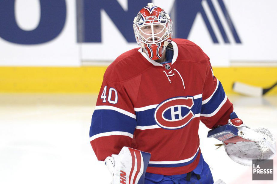 Ben Scrivensa bloqué 23 des 24tirs des Oilers... (PHOTO BERNARD BRAULT, LA PRESSE)