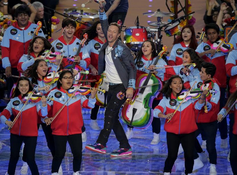 Le chanteur de Coldplay, Chris Martin (AP, Charlie Riedel)