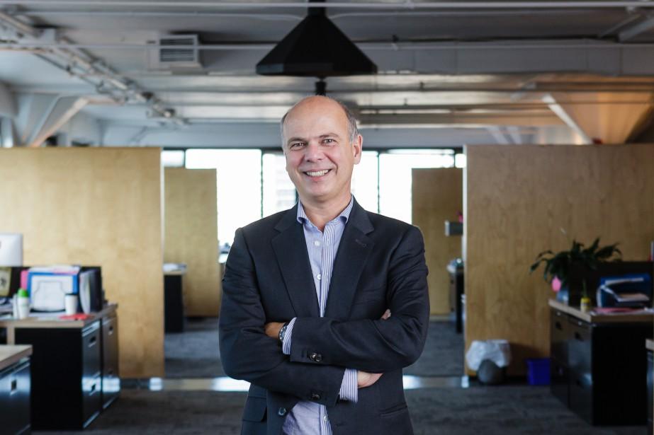 Sylvain Labarre, cofondateur de lg2, est aujourd'huiprésident du... (PHOTO ULYSSE LEMERISE, COLLABORATION SPÉCIALE)