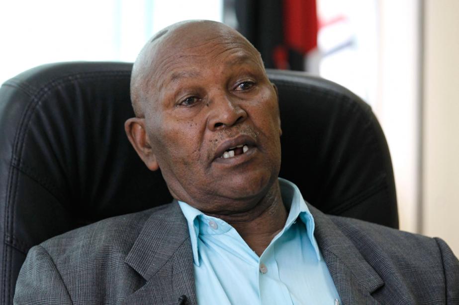 Le président du Comité national olympique kényan, Kipchoge... (Photo Thomas Mukoya, Reuters)