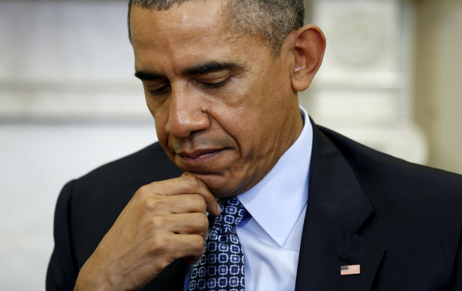 M. Obama est revenu sur l'un des thèmes... (Photo archives)