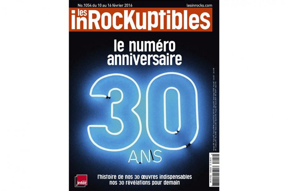 Le magazine culturelLes Inrockuptibles fête... (CAPTURE D'ÉCRAN)