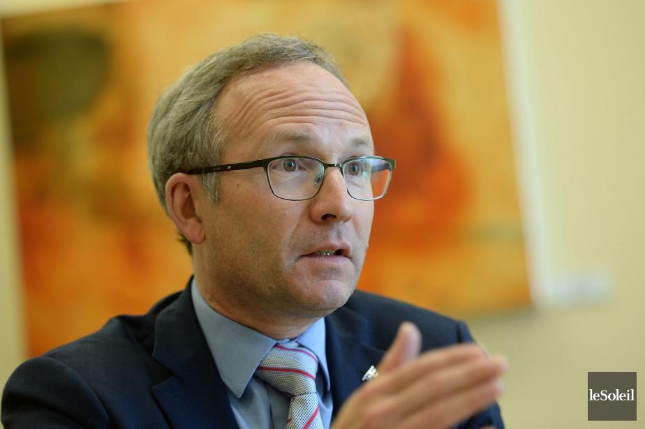 Le nouveau ministre de la Sécurité publique, Martin... (PHOTO ARCHIVES LE SOLEIL)