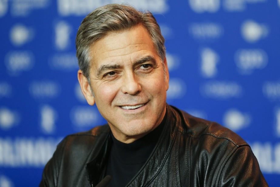 George Clooney en conférence de presse pour le... (PHOTO ARCHIVES AP)