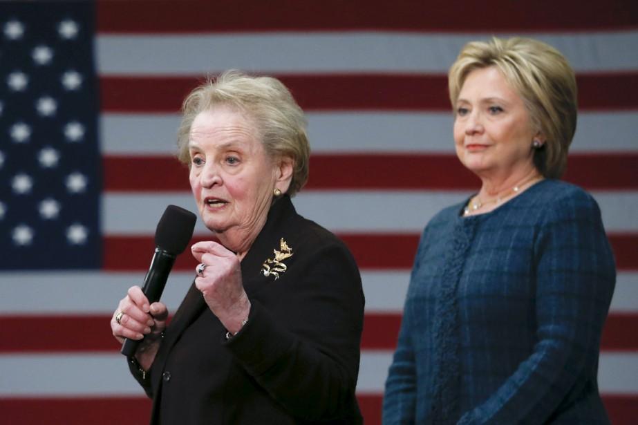 L'ex-secrétaire d'État démocrate Madeleine Albright, première femme à... (PHOTO ADRESS LATIF, ARCHIVES REUTERS)