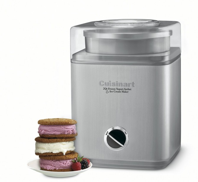 Gelateria™, la nouvelle sorbetière pour glace italienne, crème glacée, yogourt glacé et sorbet de Cuisinart. (Cuisinart)