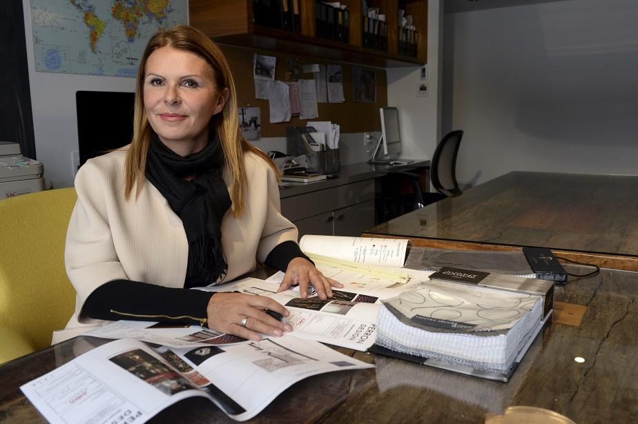 Nathalie Perronest designerindépendantedepuis deux ans.Elle a travaillécomme acheteuse et designer de magasin pendantde nombreusesannées chezAmeublements Tanguay. (Le Soleil, Patrice Laroche)
