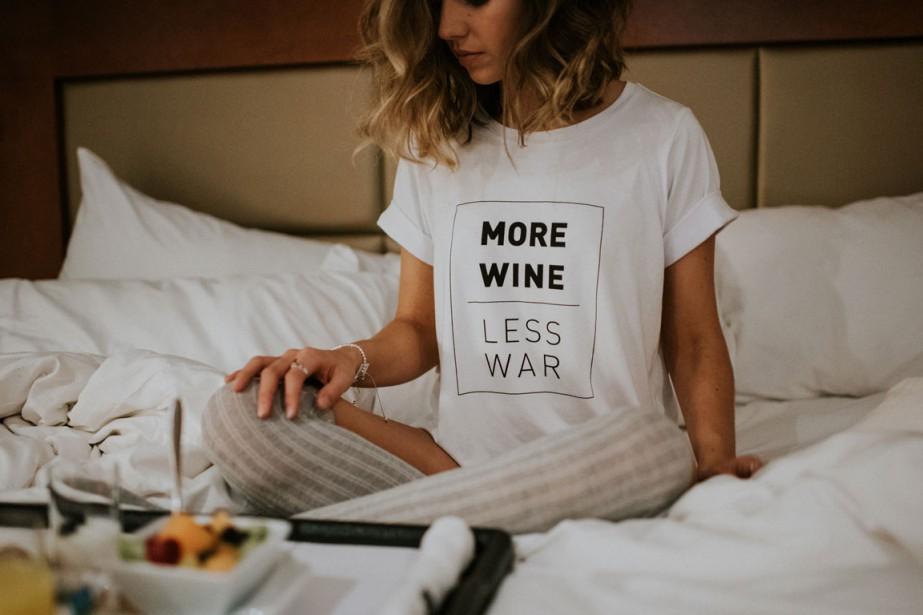 Les messages imprimés sur les t-shirts de Dailystory... (PHOTO FOURNIE PAR DAILYSTORY)