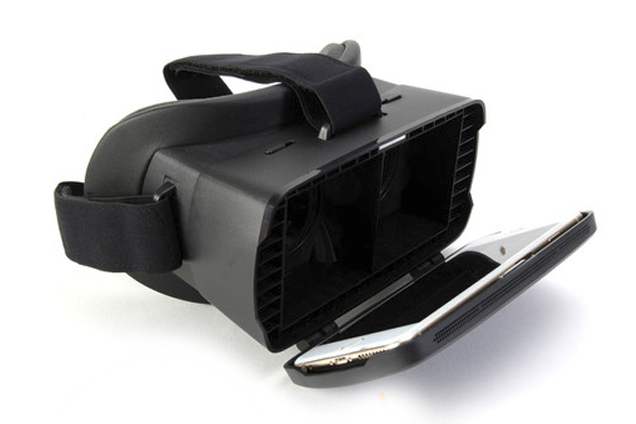 Le casque de réalité virtuelle Gmylemaintient bien le... (IMAGE TIRÉE DE L'INTERNET)