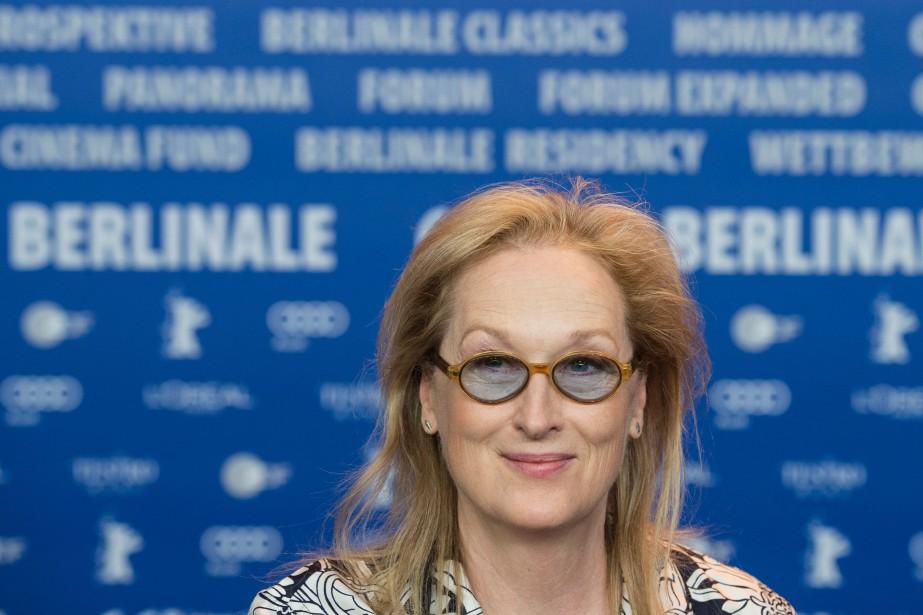 L'actrice américaineMeryl Streep préside le jury de la... (PHOTO AFP)