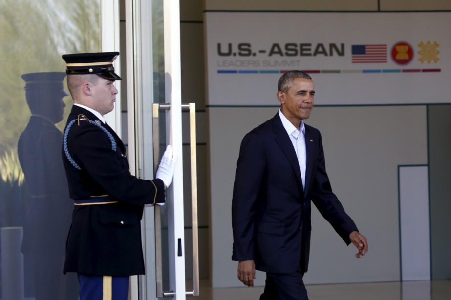Le président américain Barack Obama a accueilli lundi en... (Photo Reuters)