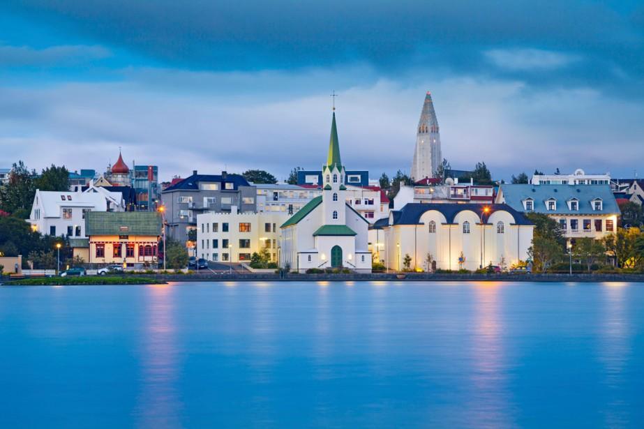 Vue de Reykjavik, en Islande.... (PHOTO THINKSTOCK)