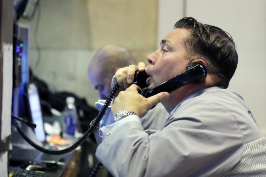 La hausse de Wall Street s'expliquait en partie... (Photo Richard Drew, AP)