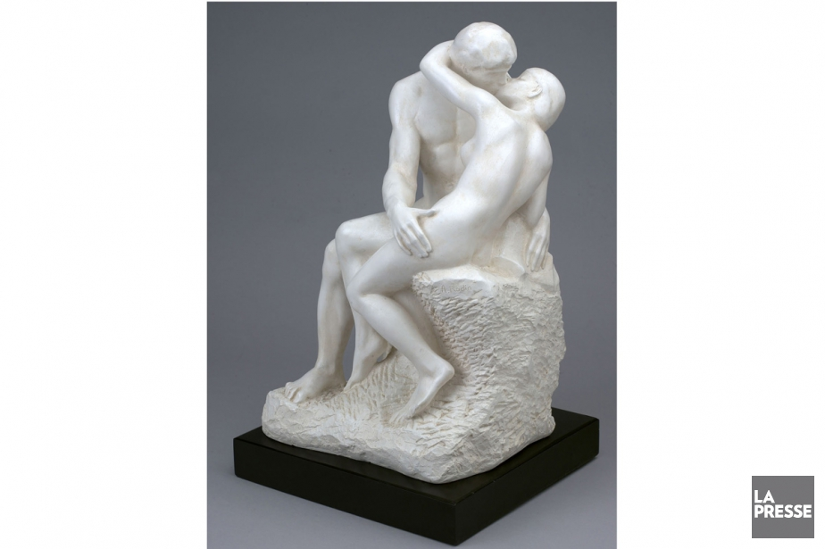 Le baiser de Rodin... (PHOTO ARCHIVES LA PRESSE)