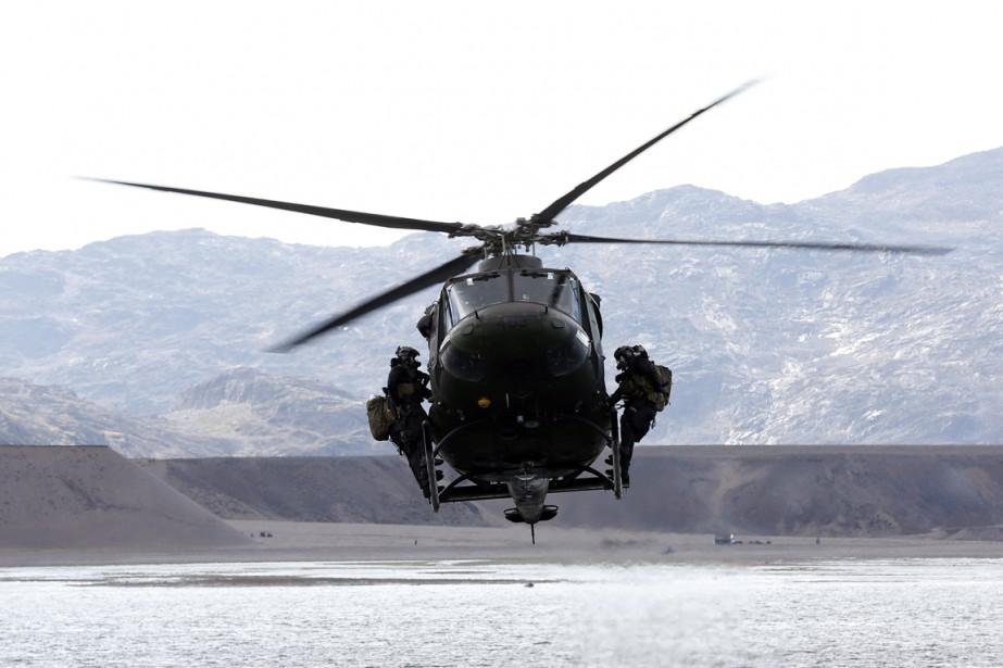 Quatre hélicoptères tactiques armés Griffon seront déployés.... (Photo archives Reuters)