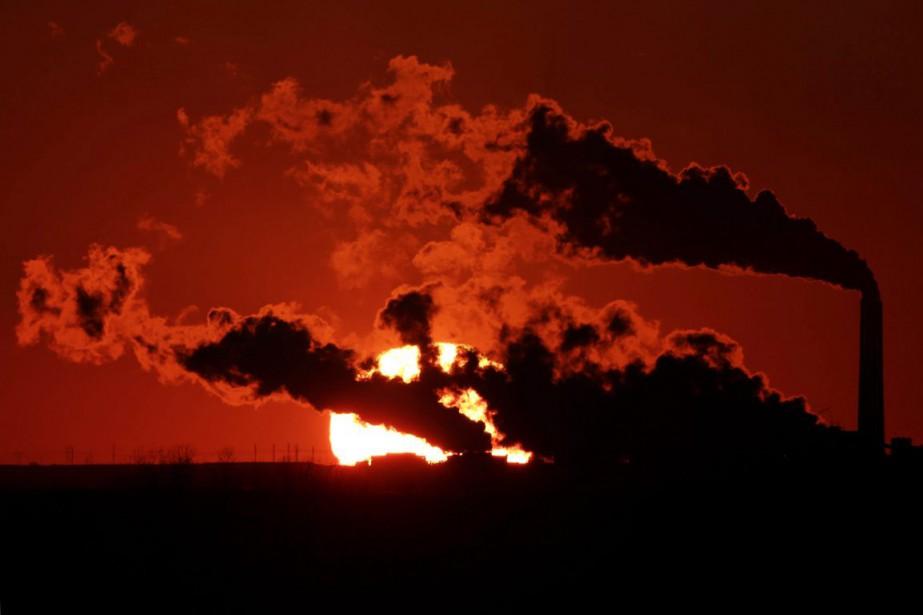 Le secteur de l'énergie représentait 81% des émissions... (PHOTO CHARLIE RIEDEL, ARCHIVES AP)