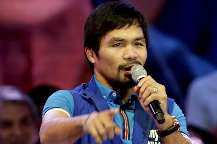 Manny Pacquiao... (PHOTO REUTERS)