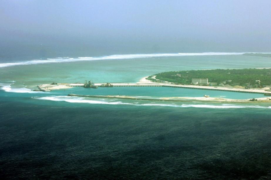 Une partie de l'île de Woody, aussi appelée... (PHOTO ARCHIVES AFP)