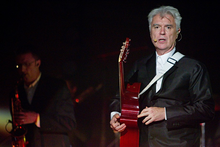 David Byrne donnera le coup d'envoi du quatrième... (Photo Alain Décarie, collaboration spéciale)