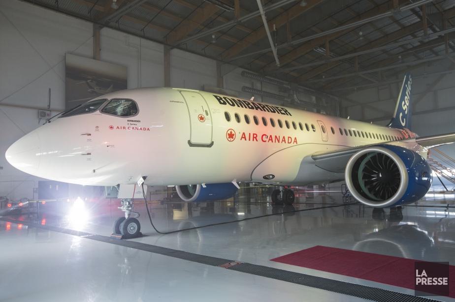 À 12h10, le titre de Bombardier gagnait21,1% ou... (Photo Édouard Plante-Fréchette, La Presse)
