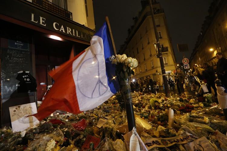 Les attentats terroristes à Paris le 13 novembre... (AFP)