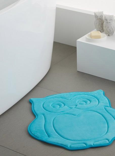 Le tapis de bain hiboux, 54x58 cm, 9,99 $, exclusivité Simons Maison (Photo fournie par Simons)
