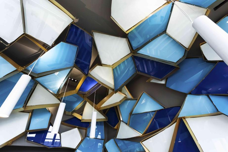 La poissonnerie Némeau à Lévis, une réalisation de Jean de Lessard, designers créatifs, a été applaudie dans la catégorie Commercial - moins de 1600 pi2. (Imagicom)