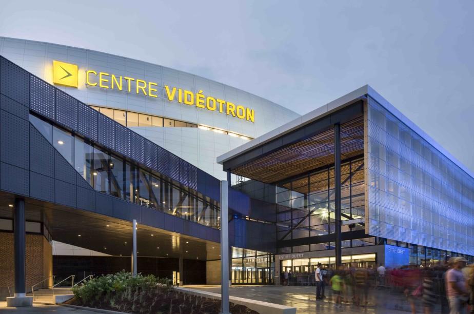 «Un design digne de la démesure du projet», a statué le jury à propos du Centre Vidéotron de l'équipe intégrée SAGP, qui a reçu un prix hors-catégorie - Établissement culturel et public. (Stéphane Groleau)