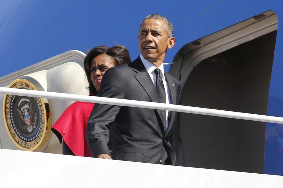 Barack Obama a annoncé jeudi qu'il se rendrait... (PHOTO JONATHAN ERNST, ARCHIVES REUTERS)