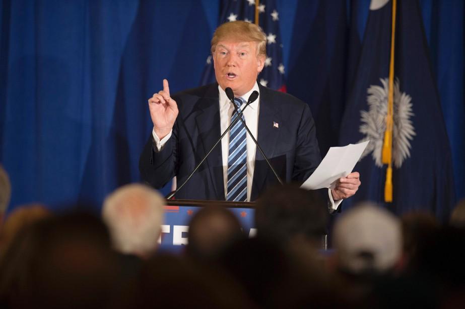 Le milliardaire américain Donald Trump.... (PHOTO JIM WATSON, AFP)