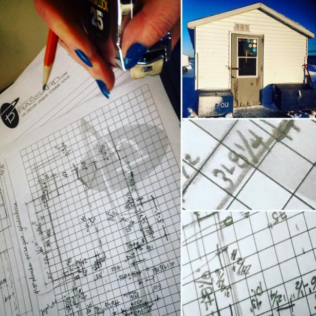 En 12 h seulement, l'équipe de Décoration Brassard a <span><span><span>mis en place le projet de design, créé le concept et réalisé les dessins techniques.</span></span></span> (Facebook Pimp ma cabane)