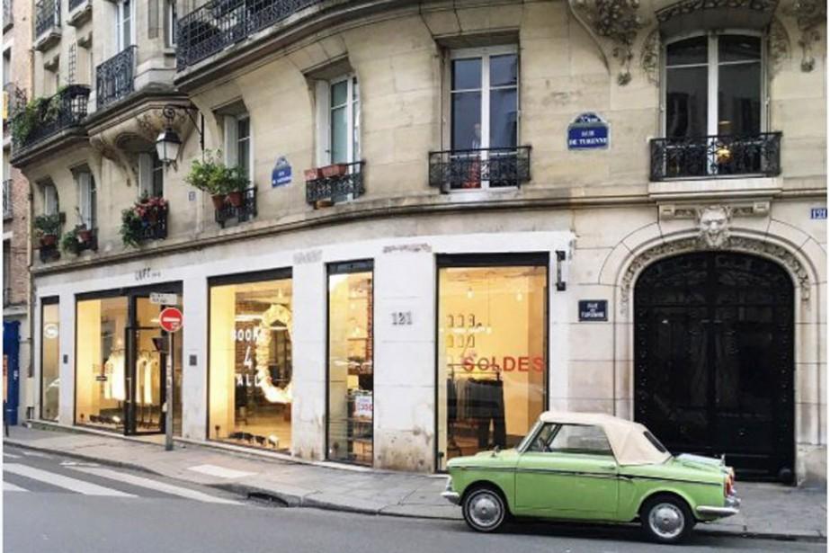 La façade d'un immeuble de Paris.... (PHOTO TIRÉE DU COMPTE INSTAGRAM HEBDOMANIA)