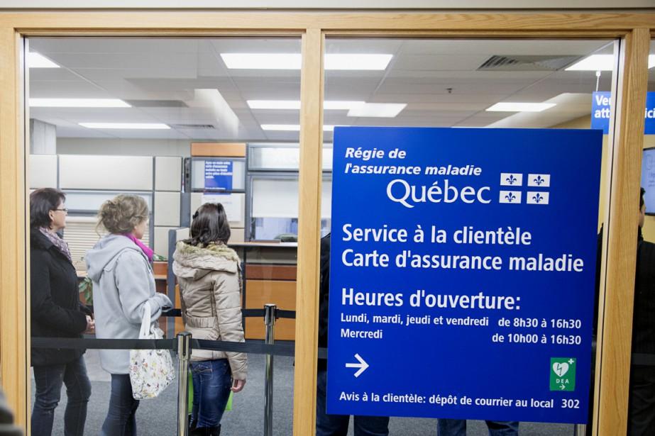 La Régie de l'assurance maladie du Québec n'a pu... (Photo La Presse Canadienne)