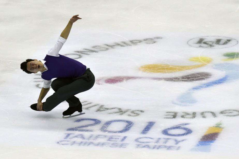 Patrick Chan... (PHOTO SAM YEH, AFP)
