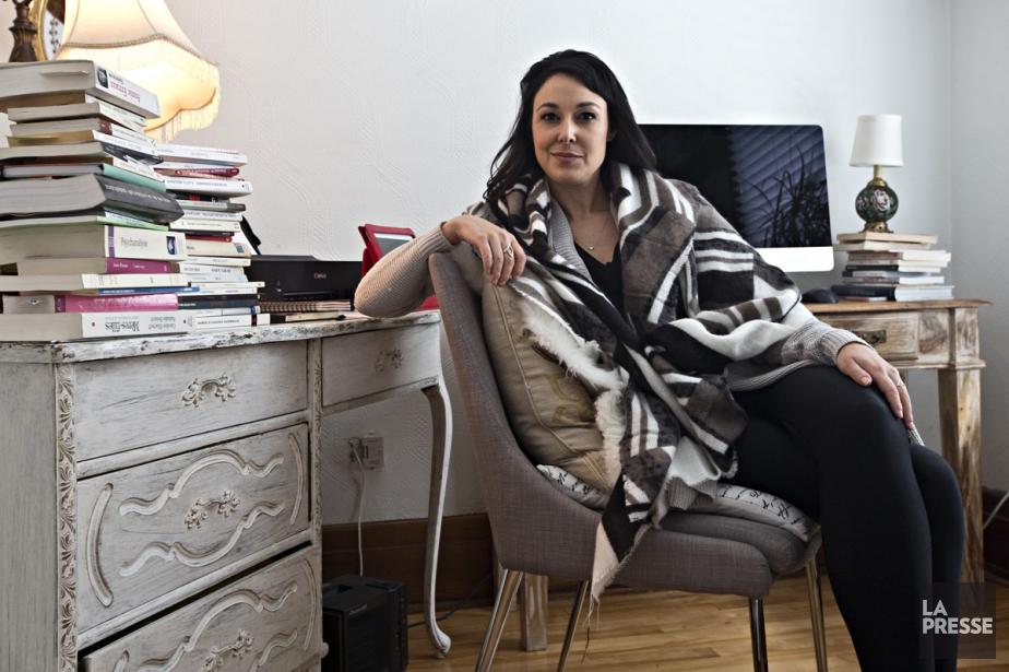Claudia Larochelle... (PHOTO PATRICK SANFAÇON, LA PRESSE)