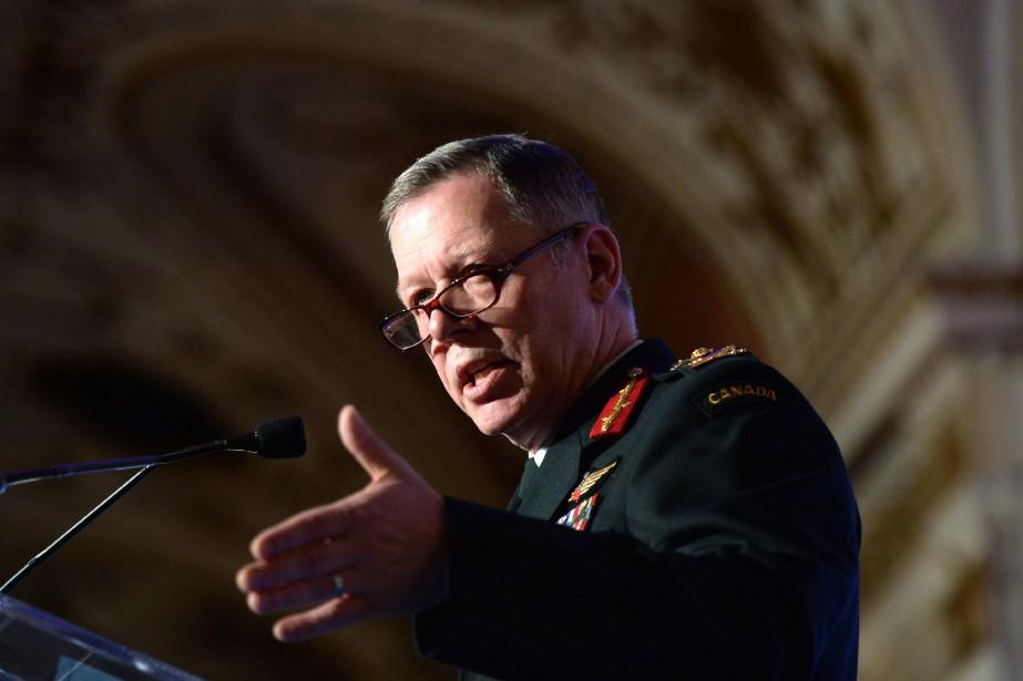 Le chef d'état-major de la défense nationale, Jonathan... (Archives La Presse canadienne)