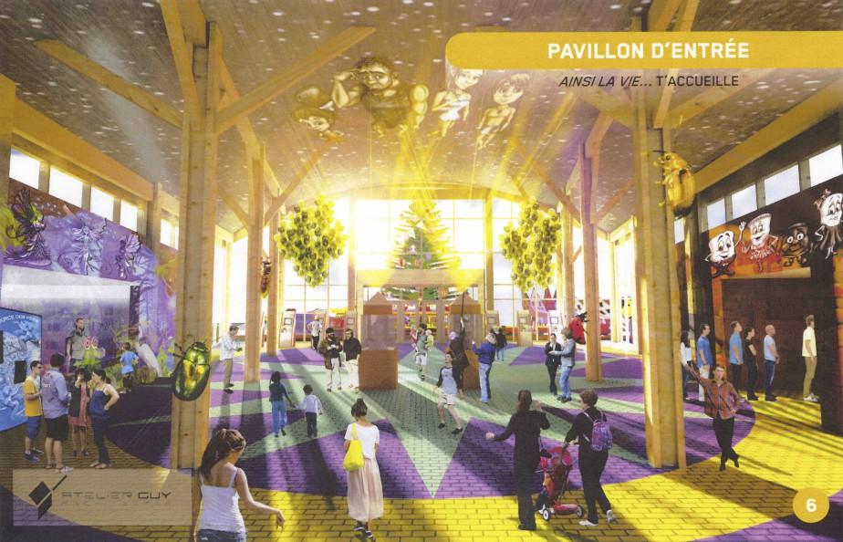 Le parc, baptisé Ainsi La Vie, devait ouvrir en 2018. (-)