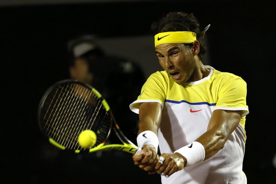 Rafael Nadal... (Photo Silvia Izquierdo, AP)