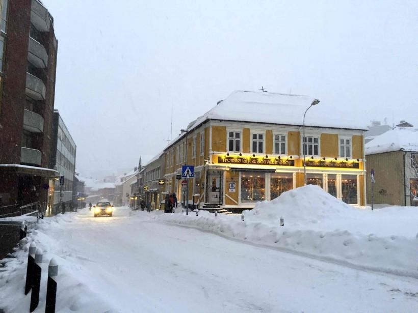 Le centre-ville de Tromsø (Kari Leibowitz)