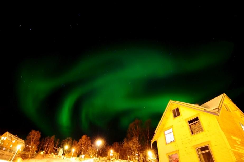 Tromsø est réputée pour ses aurores boréales. (123RF/Vojtech Vlk)