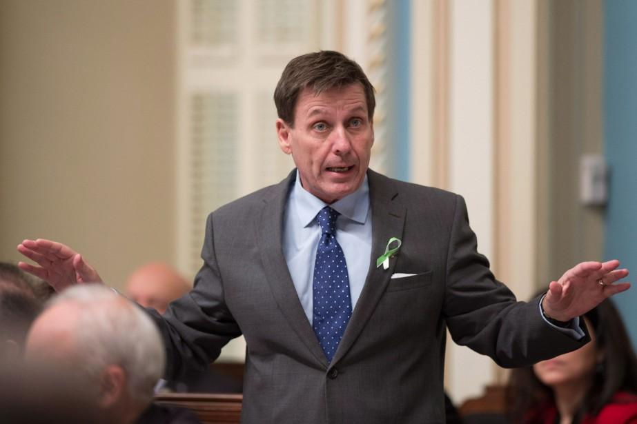 Le ministre de l'Éducation, Pierre Moreau, a soutenu... (photo jacques boissinot, la presse canadienne)