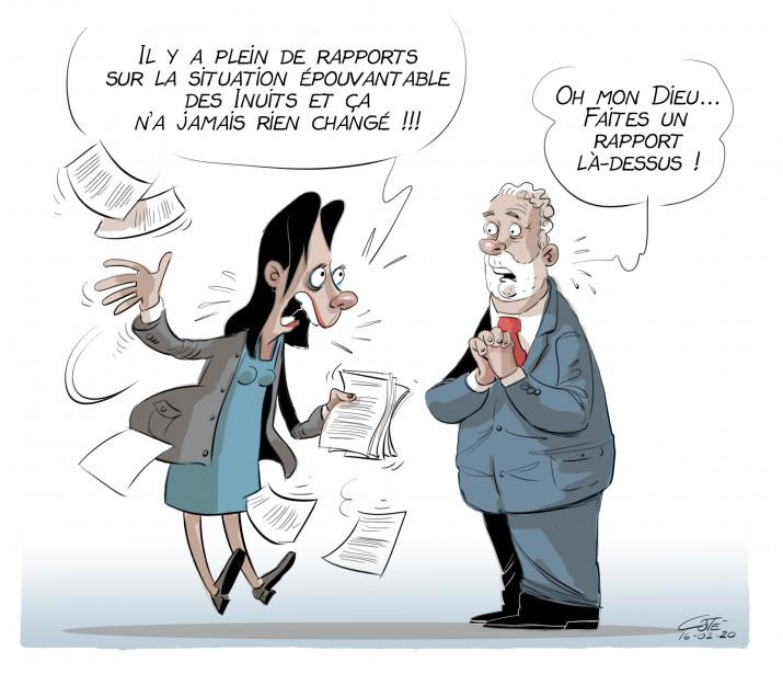 Caricature du 20 février 2016 | 20 février 2016