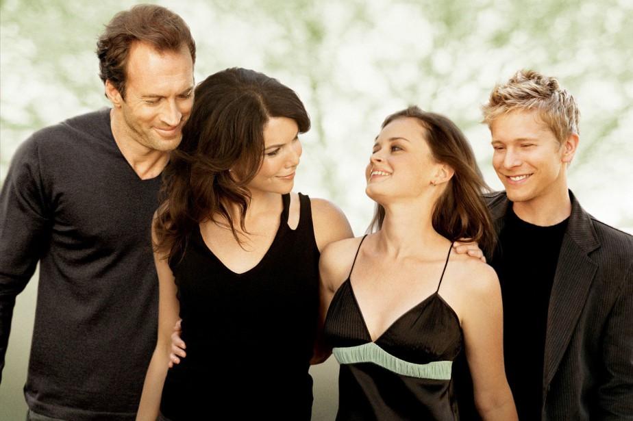 Cette image promotionnelle de Gilmore Girlsdatant de 2006... (Photo fournie par The WB)