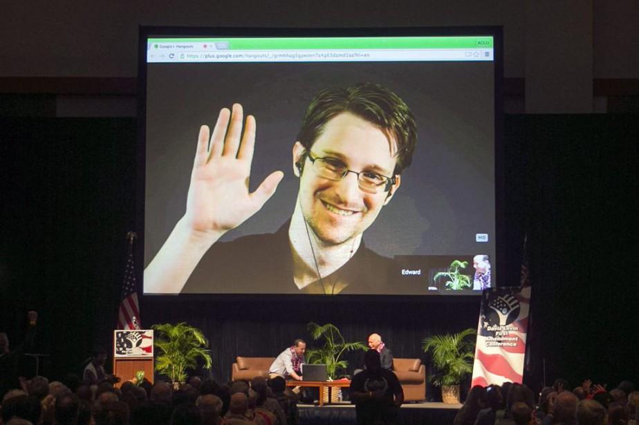 Edward Snowdenfait face à des accusations qui pourraient... (Photo Marco Garcia, archives AP)